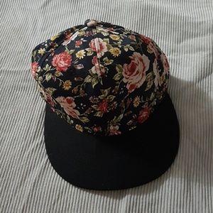 Floral Ardene Hat snapped back